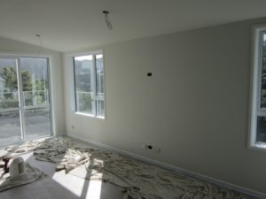 INTERIOR PAINTING - NEW BUILD