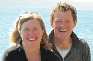 Fiona and Damian Palmer