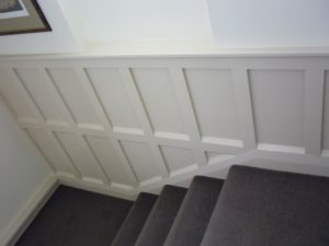Interior painting - timber panelling